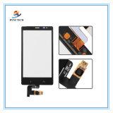 Nokia X2 유리제 수치기 부속을%s 이동할 수 있는 셀룰라 전화 LCD 접촉 스크린은 SIM RM-1013 X2d 이중으로 한다
