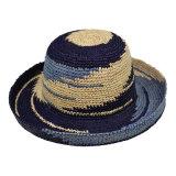 Handmade Lady Chapeau de paille, les femmes Chapeau de paille, papier paille Chapeau de godet