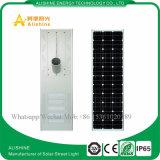 100W LEDのLiFePO4リチウム電池が付いている統合された太陽街灯