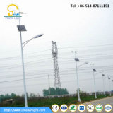 8 метров уличного освещения 40W-120W СИД солнечного гибридного
