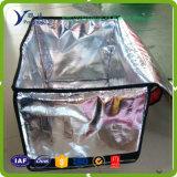 Отражательной сплетенный фольгой материал изоляции для термально мешка охладителя