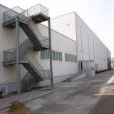 Estrutura do metal para o armazém de armazenamento
