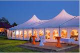 Grande tenda di alluminio decorata classica di cerimonia nuziale per oltre 500 genti