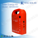 3W Outdoor Complete Free Maintenance Off Grid PV Kit d'énergie solaire