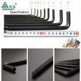 Hot Sale 10PC Hex Key Set with Magnetic clouded