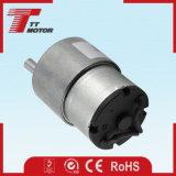 Mini motor eléctrico de poca velocidad del engranaje 24V de la C.C.