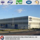 Sinoacmeは鉄骨構造の金属フレームの研修会を組立て式に作った