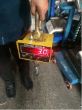Ocs escala do guindaste da escala de peso de 5 toneladas para o guindaste de pórtico do guindaste aéreo