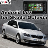 Casella Android del sistema di percorso di GPS per l'interfaccia del video di Skoda Octavia