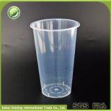 [500مل] حرارة - مقاومة واضحة يعاد فنجان قابل للتفسّخ حيويّا بلاستيكيّة مع يختم أغطية
