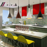 Lumière pendante de résine simple moderne pour la pièce de barre/salle à manger