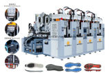 China Four Station Two Screw Soles Injection Machine