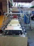 Da mobília quente do derretimento do perfil de Pur máquina de envolvimento decorativa do Woodworking