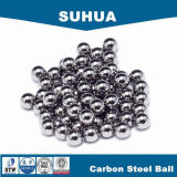 Alta precisión 1/4 '' 3/6 '' bola de acero de carbón para el rodamiento de bolitas