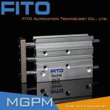 Mgpl 시리즈 3 샤프트 세 배 로드 압축 공기를 넣은 공기 실린더