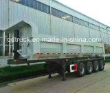 Rimorchio del trasporto rimorchio dello scaricatore da 50 TONNELLATE per il trasporto pesante