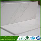 Qualitäts-weißer künstlicher Quarz-SteinCountertop mit grauen Adern
