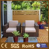 현대 알루미늄 옥외 WPC 정원 안전 격자 담을 재생하십시오