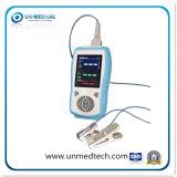 2.8inch LCDスクリーンのHandhledの獣医または動物のための携帯用パルスの酸化濃度計