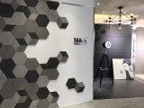Mattonelle della porcellana lustrate disegno della pietra del corpo di colore per il pavimento e la parete 600X600mm (CY05)