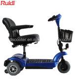 3つの車輪は障害があるスクーターの電気Foldable移動性のスクーターを密集させる