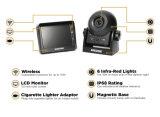 Sistema de cámara del enganche de conexión inalámbrica con monitor LCD de 3,5 pulgadas y cámara resistente al agua