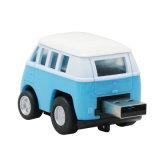 Mini clé de mémoire USB en plastique de modèle de véhicule de bus de lecteur flash USB