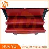 Carrinhos de ferramenta profissional / carrinho de ferramentas dentárias com gavetas de cor vermelha