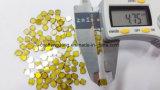 Hpht gelbe einzelner Kristall-Diamant-Platte 4*4