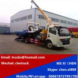 Maec 3tonnes démolisseur remorquer le chariot avec 3000kg camion-grue dépanneuse
