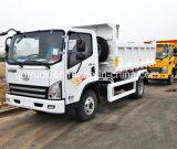 사용된 트럭 FAW 가벼운 모래 덤프 트럭