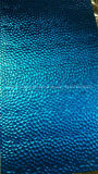Strato decorativo dell'acciaio inossidabile di colore blu di modello del metallo del martello