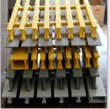 FRP 담을 비비는 FRP Pultruded는, Pultruded 단면도를 감시하는 안전을 가로장으로 막는다
