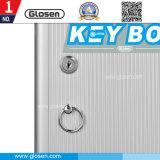 24 cadres de mémoire en aluminium portatifs économiques de petite taille vérouillable de clés