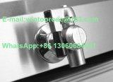 17L escolhem a frigideira elétrica do aço inoxidável com válvula do petróleo