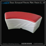 LLDPE material de rotación de moldeo de plástico moderno LED silla