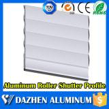 Profil en aluminium en aluminium de rouleau de roulement d'obturateur de guichet automatique de porte