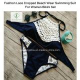 Zwemmende Kostuum van de Slijtage van het Strand van de manier het Kant Bebouwde voor de Reeks van de Bikini van Vrouwen