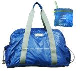 Дружественность к окружающей среде складные Ripstop Duffel сумки для спорта на открытом воздухе, спортзал деятельности