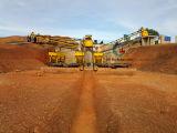 Alluviale Coltan die Installatie scheiden