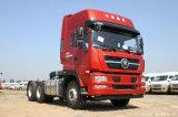 中国シャントウDeca Sitrak C7hの大型トラック4X2満足な価格の400馬力トラクター(危険な輸送)
