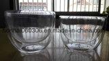 Hand durchgebrannte Pyrex Glascruet-Flasche