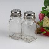 Venda por grosso de vidro de boa qualidade Boticário Copo com tampa de metal