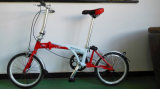 Велосипед стержня сплава складывая с стальной вилкой для крумциркуля Brake (BE-006)