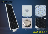 Luz de calle elegante del control LED del panel solar de Sunpower con 3-Years-Warranty