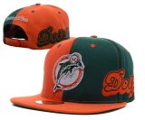 Os golfinhos de alta qualidade tampas de beisebol / Snapback Chapéus com painel de contraste