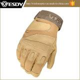 Esdy volle Finger-im Freiensport Airsoft Militärjagd-Handschuhe