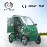 De mini Elektrische Vrachtwagen van de Lading van het Landbouwbedrijf met Gesloten Kabinet
