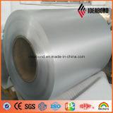 El color metálico de plata prepintó la bobina de aluminio