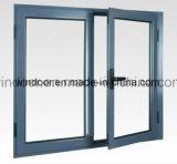 알맞은 가격을%s 가진 외부에 의하여 경첩을 단 PVC Windows를 여십시오